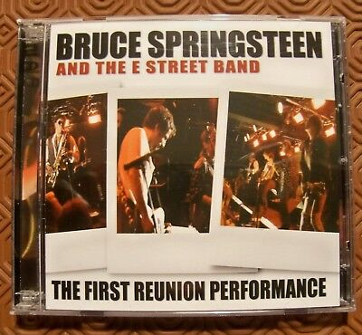 """Bruce Springsteen """"First Reunion Performance"""" 2Cd Live Tramps Nightclub Nyc 1995"""