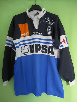Maillot Rugby Kooga Sporting union Agen SUA UPSA Ford Vintage jersey - XL