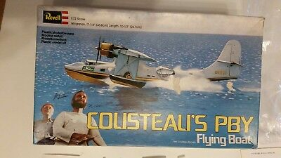 Revell Cousteau's PBY  Flying Boat