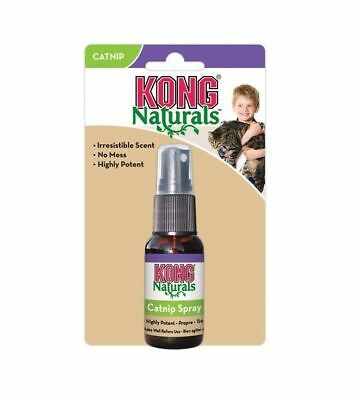 KONG Naturals Premium Catnip 30ML Spray -  Cats Kittens Cat nip