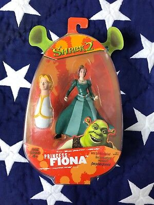 Shrek 2 Princess FIONA Figure Movie NEW 2004 nrfb