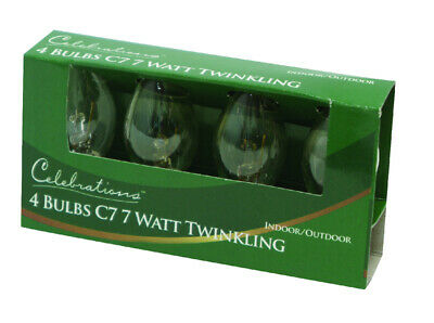 Celebrations Replacement Twinkle Bulbs 3 W Pack of 10