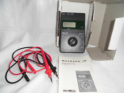 Multimeter - BBC GOERZ METRAWATT MA 1D -Digitales Messinstrument Meßgerät Neu