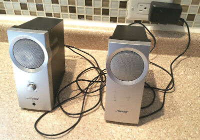 Bose Computer Speakers Companion 2 BIG Bose Sound! Tested Working!