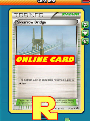 2x Skyarrow Bridge - for Pokemon TCG Online ( DIGITAL ptcgo in Game Card)