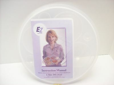 Ez Plate New Portion Control - 24 Measurements - w/Instructions for Weight Loss
