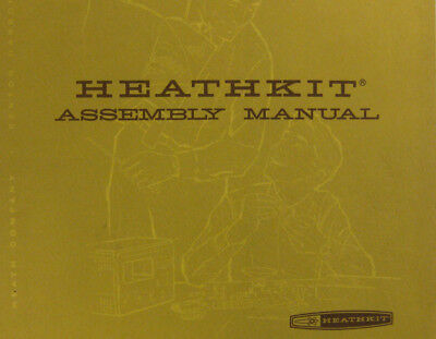 HEATHKIT GC-1000-H Most Accurate Clock ASSEMBLY & OPERATION digital Manual