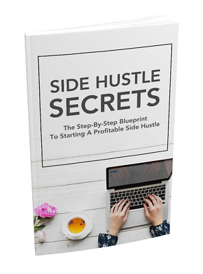 "work from home NEW Training Course ""Side Hustle Secrets"" 09/09/2018 + Bonuses"