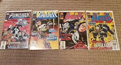 Punisher 1996 - Issues 7, 8, 10, 11 (Good Condition)