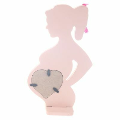 Wooden Photo Picture Frame for Pregnant Women Wedding Ornaments Decorations Z7E9