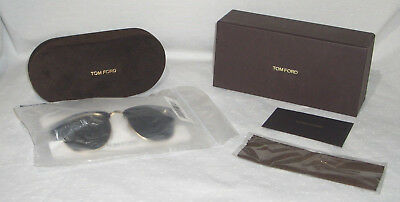 967563432e TOM FORD HENRY TF0248 05N BLACK   GOLD w GREEN 53mm AUTHENTIC ITALY NEW IN