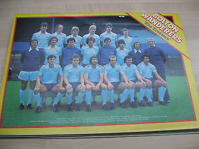 Match Weekly magazine with Bolton Wanderers team photo 1979