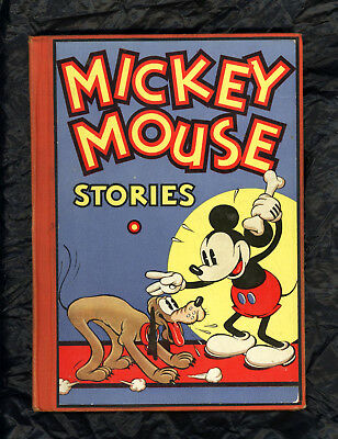 MICKEY MOUSE STORIES #2 - RARE 1934 1st Print - BEAUTIFUL CONDITION - PLUTO