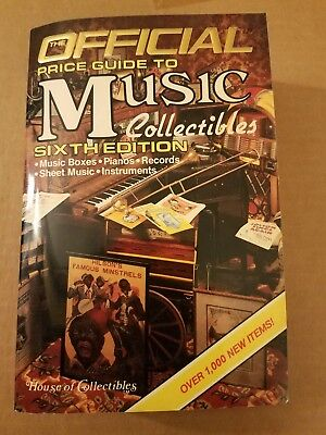 The Official Price Guide to Music Collectibles (sixth Edition, 1986)