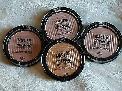 Maybelline Master Chrome by Face Studio Metallic Highlighter ~ Choose your shade