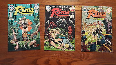 DC Comics Rima The Jungle Girl #s 1, 2, & 3 CHECK OUT THE PHOTOS!