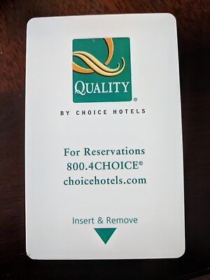 Quality Inn Hotel Key Card (Set Of 6 Used)