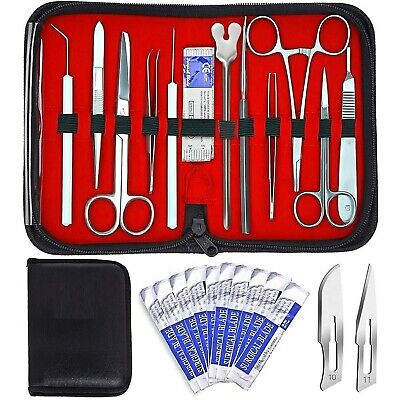 20 Pcs Advanced Biology Lab Anatomy Medical Student Dissecting Dissection Kit Se