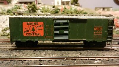 Varney HO Vintage Maine Central (MEC) Lithographed Metal Boxcar,, Exc.