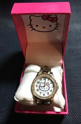 40376bd9f OFFICIAL LICENSED HELLO KITTY Sanrio HK1830D Women's Watch Pink Band ...