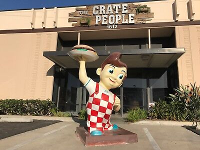 BOB's Big Boy Statue – Original Authentic Restaurant Icon