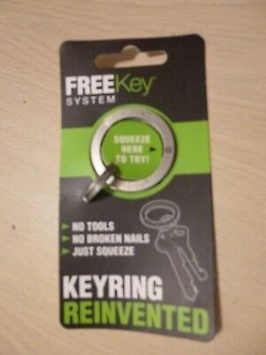 Exotac FreeKey System Keyring Reinvented - with 3 Small Rings
