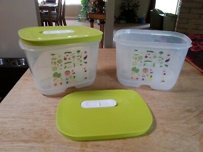 New Tupperware FridgeSmart Container size Small Deep, 1.75 quart with seal