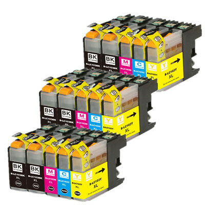 15 Non-Oem Ink Brother Lc-103 Xl Lc101 Mfc-J4610Dw Mfc-J470Dw Mfc-J4710Dw J475Dw