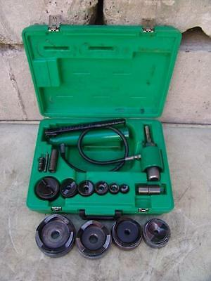 Greenlee 7310 1/2 To 4 Hydraulic Knock Out Punch #12 <--- L@@k