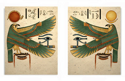 Egyptian Horus Falcon Art Prints