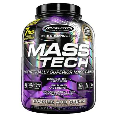 Mass-Tech Performance Series 7lbs (3.2kg) Muscletech Ganador masa muscular