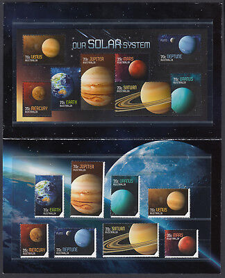 2015 Our Solar System Post Office Stamp Pack - MNH
