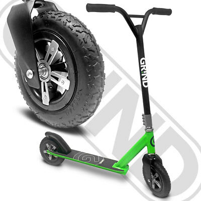 2019 GR!ND - Dirt X - Off Road - Stunt Scooter - Green - Adult - Kids