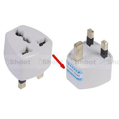 US United States EU AU- UK United Kingdom AC Power Plug Adapter Travel Converter