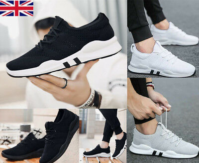 Mens Running Trainers Breathable Absorbing comfy Skateboarding Shoes Sport SZ8.5