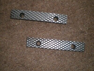 Replacement Set (2) Of Unused  6 Inch (150 Mm) Engineers Bench Vice Jaws