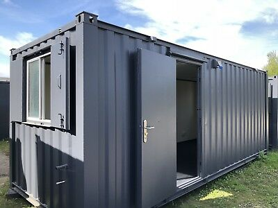 21ft x 8ft  Anti Vandal Site Canteen Office/Portable Building/Canteen Container