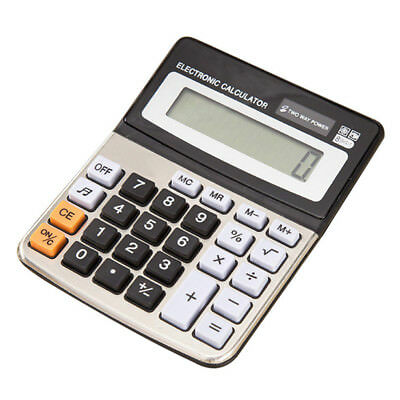 8 Digits Display Desktop Calculator Dual Power with Sound Business & Accounts UK