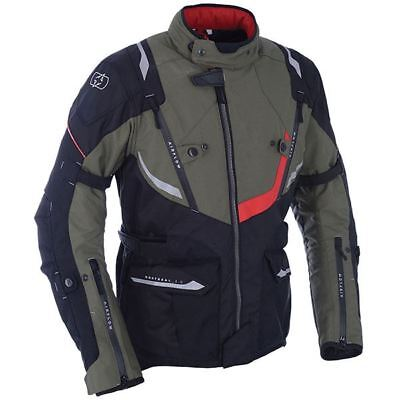 Oxford Montreal 3.0 Textile Waterproof Motorcycles Jacket - Army Green