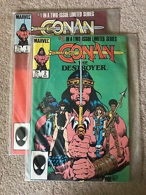 CONAN THE DESTROYER (Marvel Comics) (1985) - LIMITED EDITION - FULL SERIES - NM