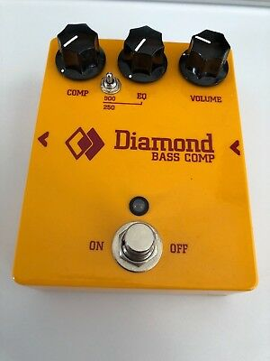 Diamond Pedals Bass Comp / Compressor -gebraucht-
