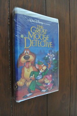 walt disney classic The Great Mouse Detective VHS demo tape 1992 new and sealed