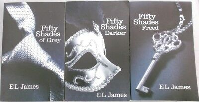 Fifty Shades of Grey 3 Book Set - Grey / Darker... - E L James - Good - Paper...
