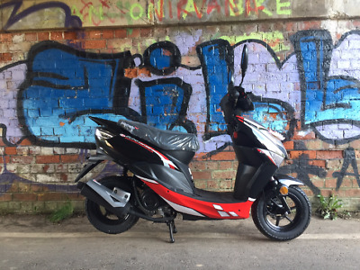 Lexmoto Echo 50cc  Red & Black  Euro 4 NOW IN STOCK @ just £1099.99