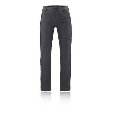 Haglofs Womens Moran Pants Trousers Bottoms Grey Sports Outdoors Water Resistant
