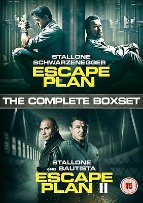 Escape Plan/Escape Plan II [DVD]