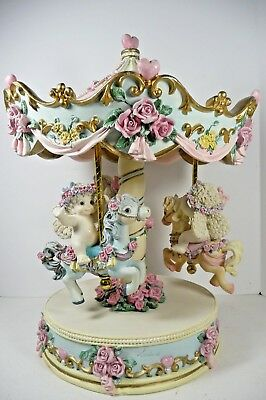 Dreamsicles Rare Limited Edition Carousel Magical Merry Go Round 11481 OB Signed