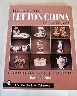 20th Century LEFTON CHINA & Collectibles Numbered Price Guide ISBN 0-7643-1332-0
