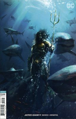 JUSTICE LEAGUE #11 VAR ED (DROWNED EARTH) - G339 - PreOrder 07.11.2018