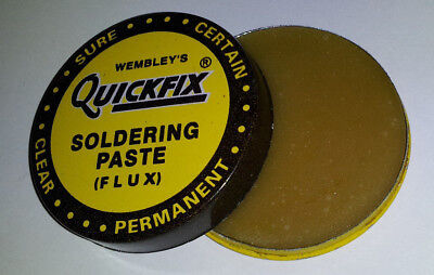 Tin Of Soldering Flux Paste For Electronics SMD Plumbing DIY etc 15 gram